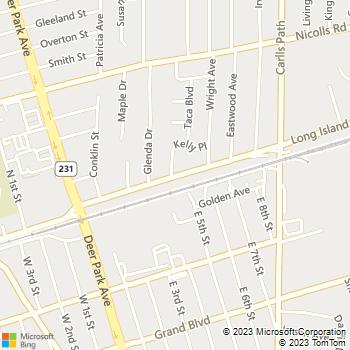 Map - Fairfield Station At Deer Park - 801 Long Island Ave - Deer Park, NY, 11729