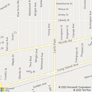 Map - Fairfield At Deer Park - 766 Nicolls Rd - Deer Park, NY, 11729