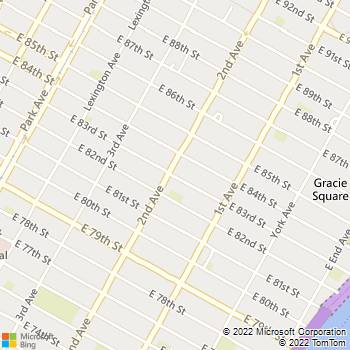 Map - Archstone Camargue - 303 E 83rd St - New York, NY, 10028