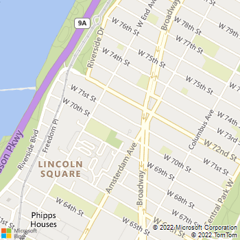 Map - Parc Coliseum - 228 W 71st St - New York, NY, 10023