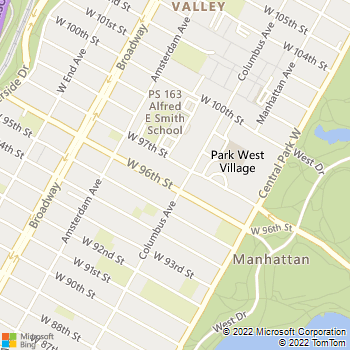 Map - Archstone West 96th - 750 Columbus Ave - New York, NY, 10025