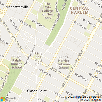 Map - The Balton - 311 W 127th St - New York, NY, 10027
