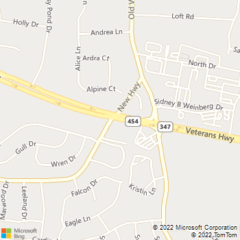 Map - Fairfield At Hauppauge - 660 Veteran's Memorial Hwy560 - Hauppauge, NY, 11788