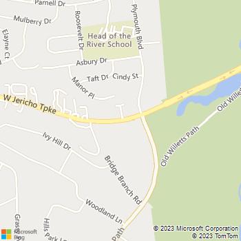 Map - Fairfield At Smithtown - 35, 37, 39 Elliott Place - Smithtown, NY, 11787