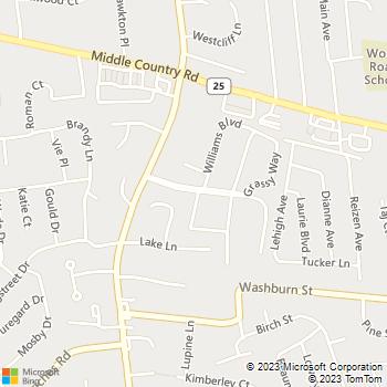 Map - Lake Grove Apartments - 9 Williams Blvd - Lake Grove, NY, 11755