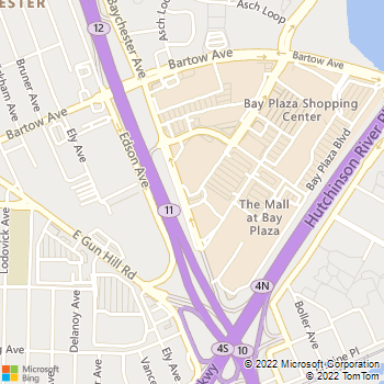 Map - Premium Locksmiths - 290 Baychester Avenue - Bronx, NY, 10475