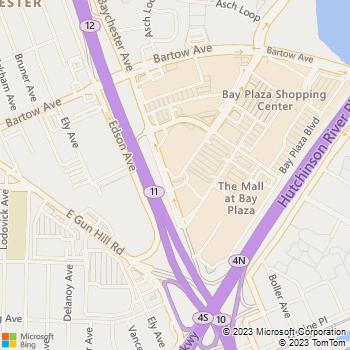 Map - Bronx Locksmith - 290 Baychester Avenue - Bronx, NY, 10475