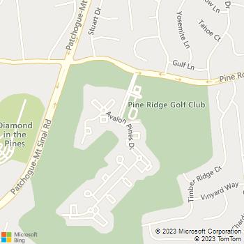 Map - Avalon Pines - 1 Avalon Pines Drive - Coram, NY, 11727