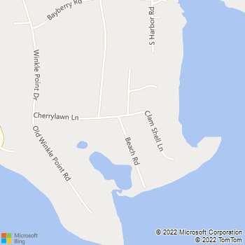 Map - Fairfield Northport Harbor - 7 Beach Rd - Northport, NY, 11768