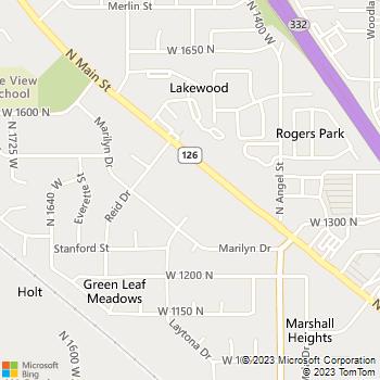 Map - Villas On Main - 1447 N Main St - Layton, UT, 84041