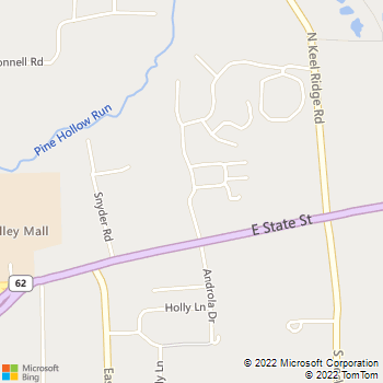Map - Hermitage Hills Apartments - 200 Hermitage Hills Blvd - Hermitage, PA, 16148