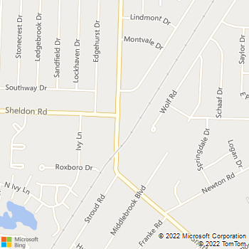 Map - VCA Midpark Animal Hospital - 6611 Smith Rd. - Cleveland, OH, 44130