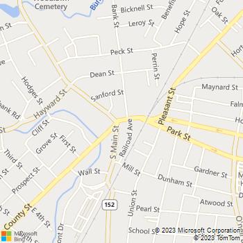 Map - Imhoff & Associates - 7 Park Street, Suite 202 - Attleboro, MA, 02703
