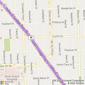 Map - Blessed Handyman - 18075 Littlefield Street - Detroit, MI, 48235