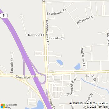 Map - Independence Green Apartments - 24360 Independence Ct - Farmington, MI, 48335