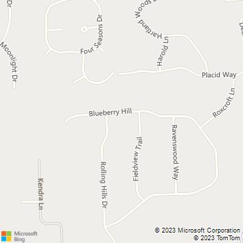 Map - Henry F Firek LLC - 9134 Blueberry Hill - Howell, MI, 48843