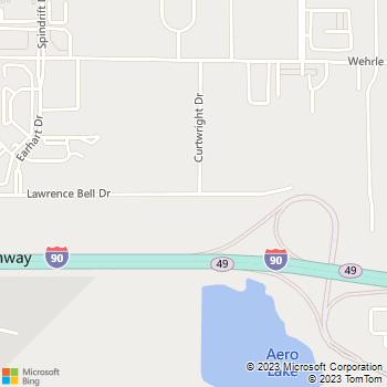 Map - Shred-it - 440 Lawrence Bell Drive - Buffalo, NY, 14221