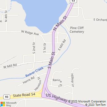Map - Best Friends Pet Clinic - 16875 S Main Street - Galesville, WI, 54630