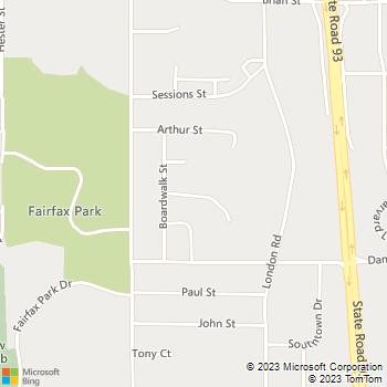 Map - Woodsedge Apartments - 2510 Boardwalk Cir Apt Apt 1 - Eau Claire, WI, 54701