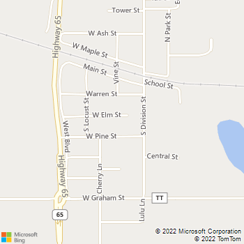Map - A to Z Lawn and Landscape - 108 West Elm Street - Roberts, WI, 54023