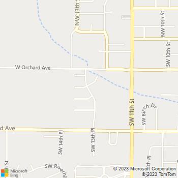 Map - Viewcrest Apartments - 525 SW 13th Pl - Hermiston, OR, 97838