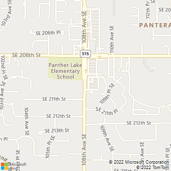 Map - Afford-A-Vet Animal Clinic - 20920 108th Ave SE - Kent, WA, 98031