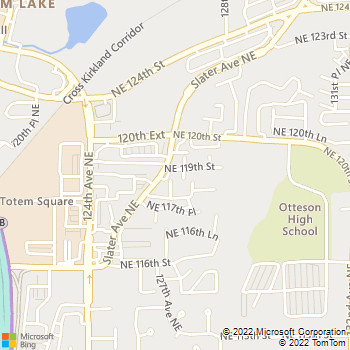 Map - Critter Doctor Animal Hospital - 11828 Slater Ave NE # 100 - Kirkland, WA, 98034