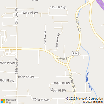 Map - Morgan Sound Incorporated - 2004 196th St. SW, Suite #2 - Lynnwood, WA, 98036
