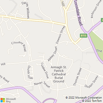 Irish & Local Studies Library, Armagh location map