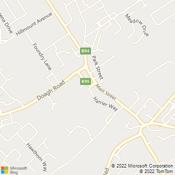 Ballyclare Library location map
